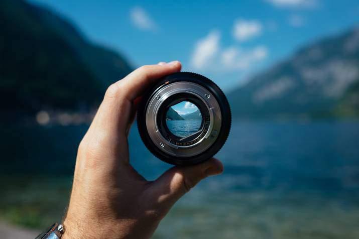 SEO optimalisatie metafoor camera focus