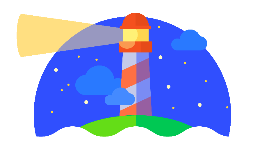 Lighthouse symbool